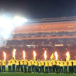 Cooper back on bench for embattled Wallabies
