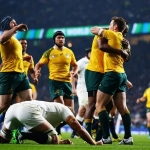 Australia send England crashing out of RWC