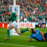 Ireland knock gritty Italy out