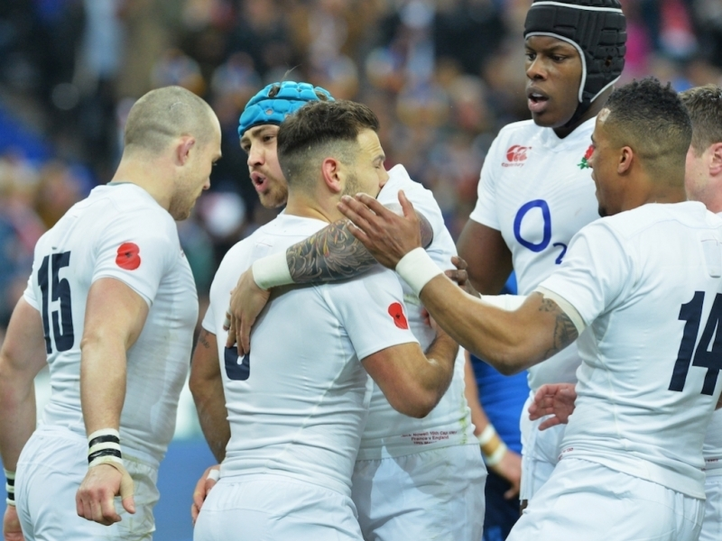 Grand Slam glory for England